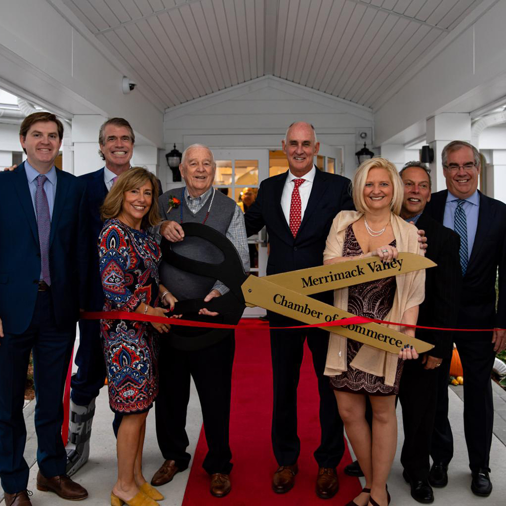 Cutting the ribbon on the latest community