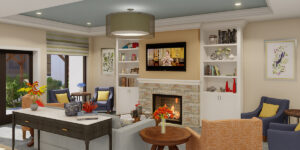 Memory Care Living Room Concept