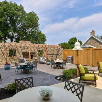 Arbor Terrace Exton Assisted Living Patio